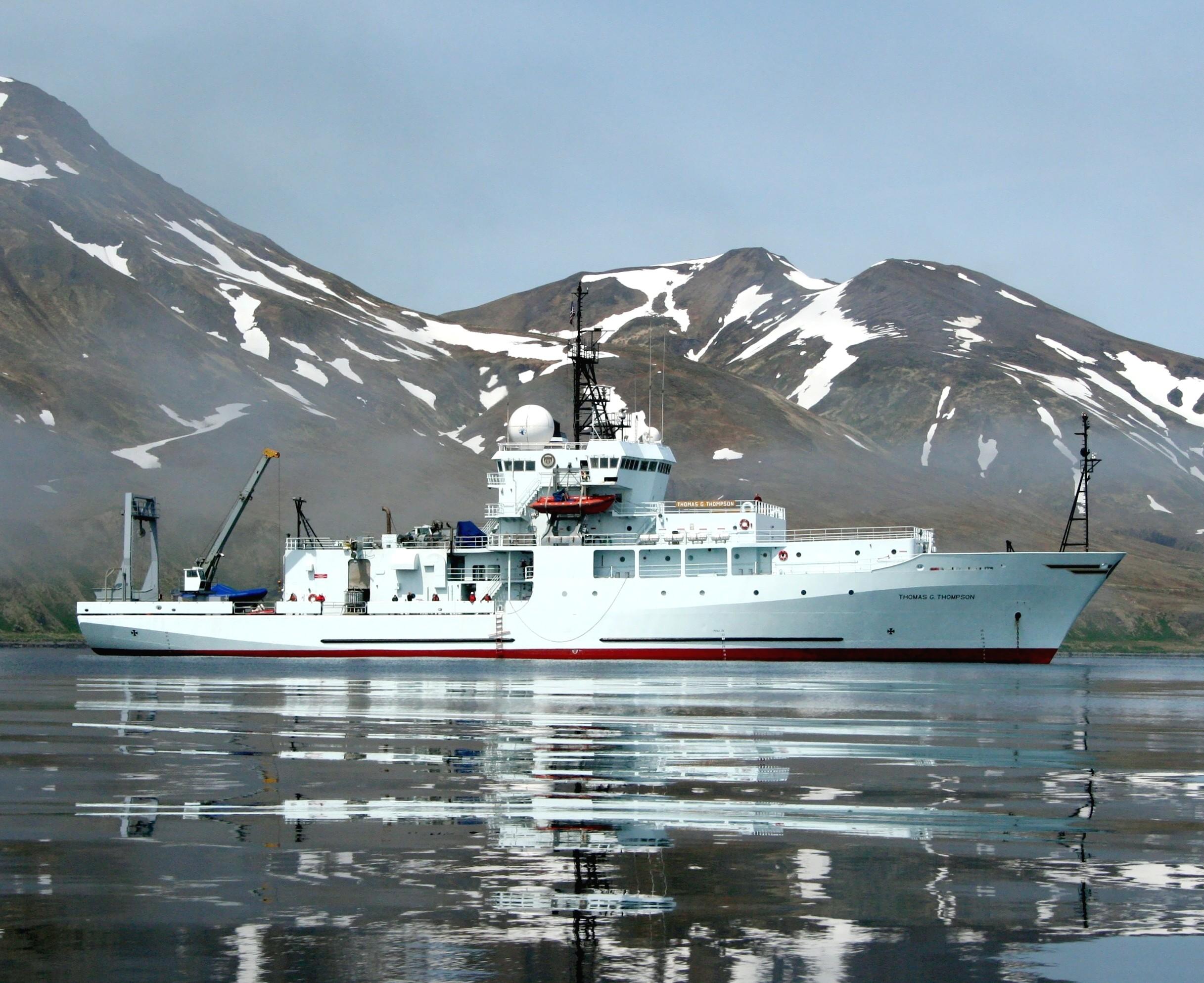 research vessels marine biology
