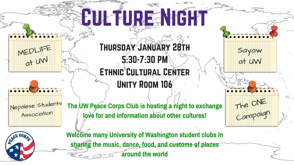 Culture Night flyer