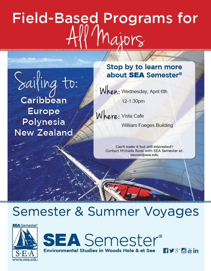 SEA semester flyer